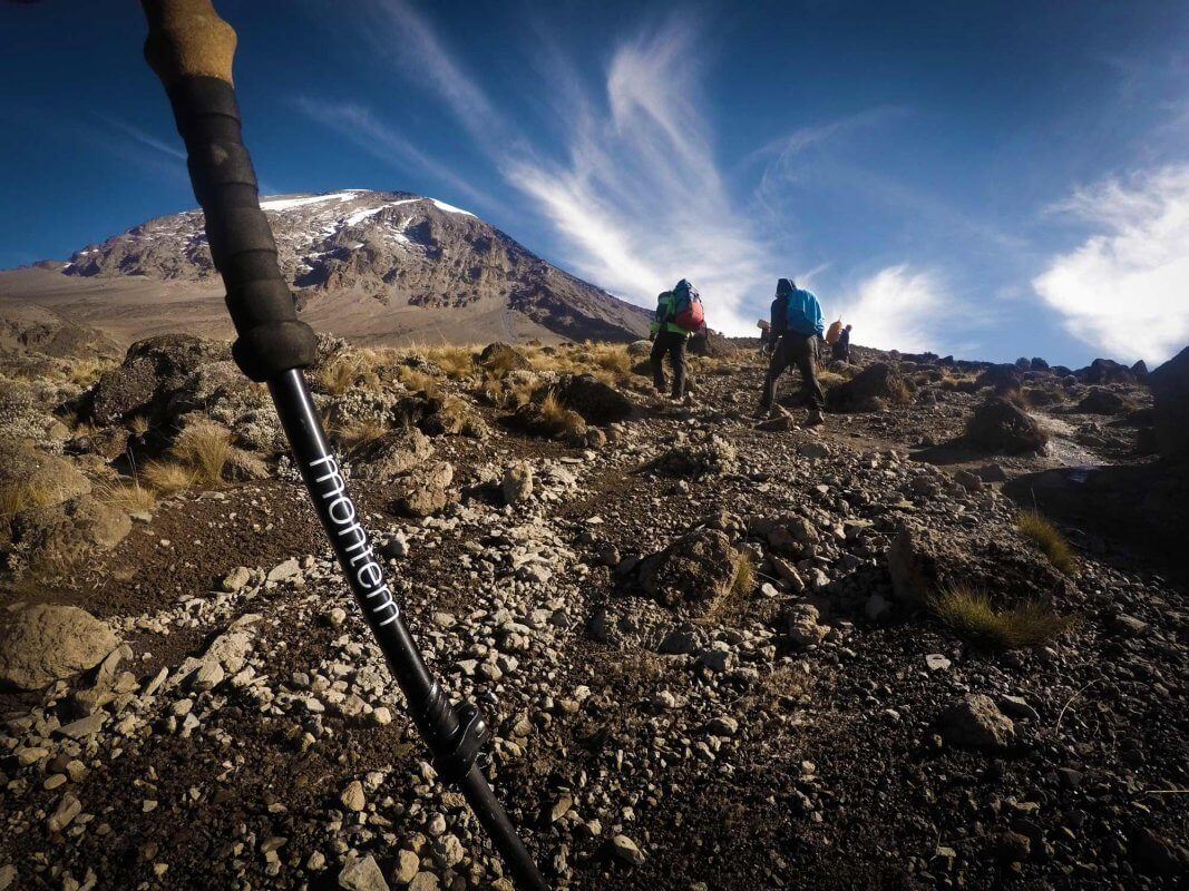 Montem Trekking Poles On A Hike