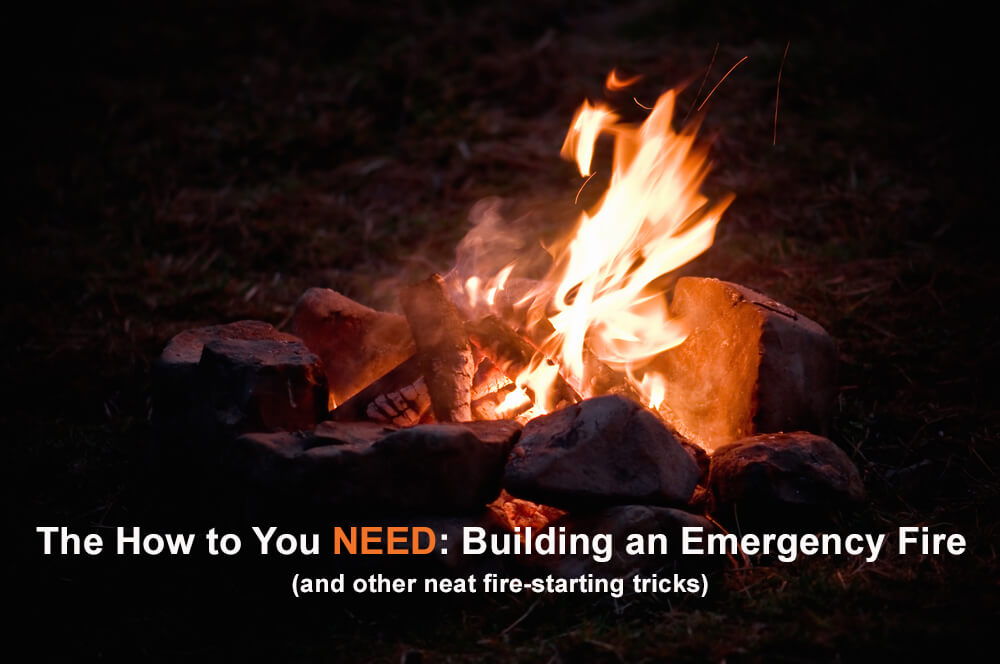 how to start an emergency fire